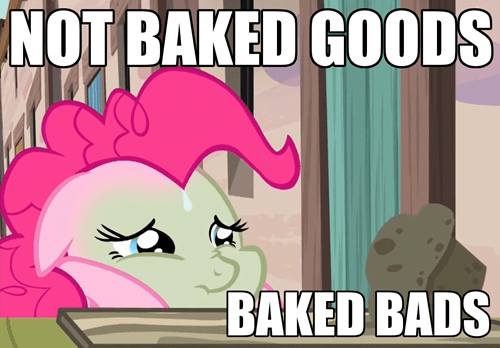 baking pinkie pie muffins - 8473877504