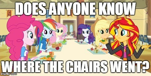equestria girls,chairs,animation error