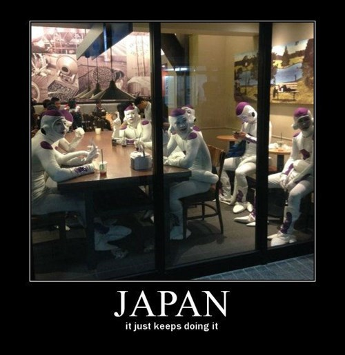 Dragon Ball Z Japan funny frieza - 8474345216