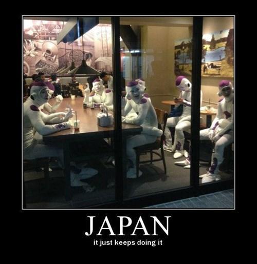 Dragon Ball Z Japan funny frieza - 8474345216