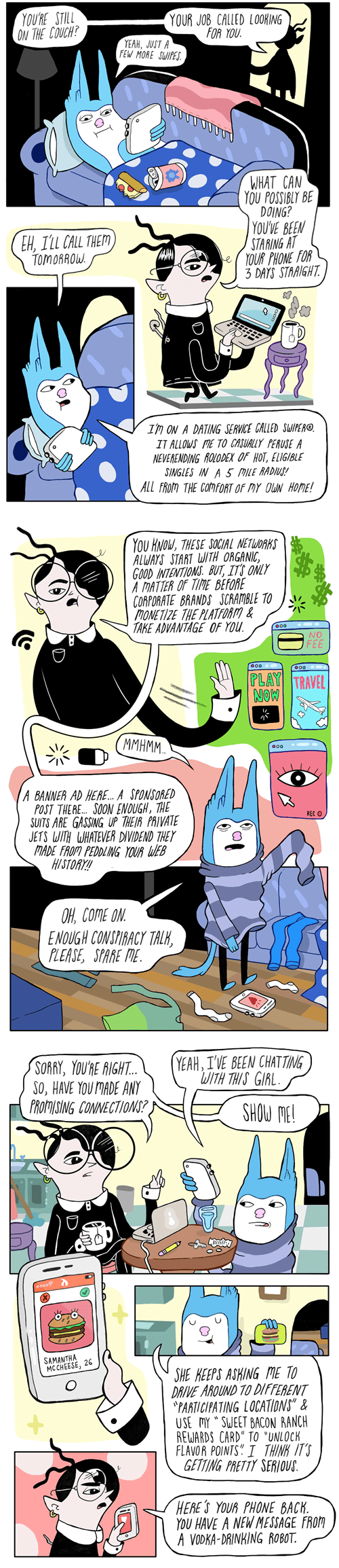 funny-web-comics-what-its-like-to-date-in-this-late-capitalist-hellscape