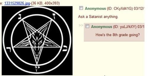 8th grade satanist funny - 8474396416