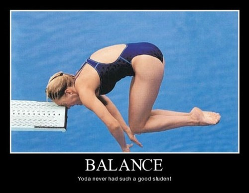 diving head balance funny - 8474755584