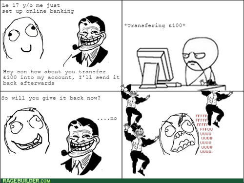 wtf troll dad jerk funny thief