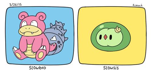 pokemon memes slowbrow slowsis