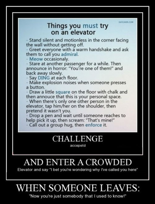 elevator,bucket list,funny