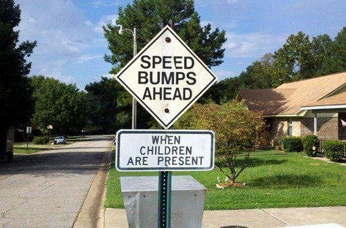 funny-sign-pic-parenting-speed-bump