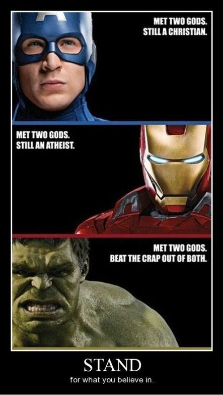 gods,hulk,funny,avengers