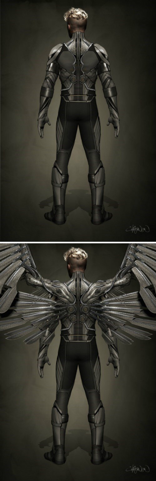 superheroes-xmen-marvel-angel-production-art-apocalypse