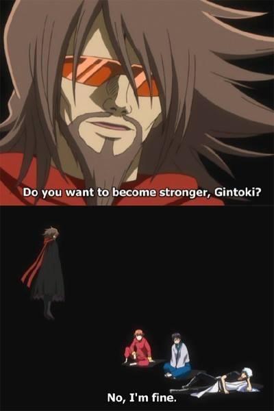 anime memes gintoki become stronger