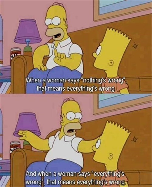 Homer Knows Women