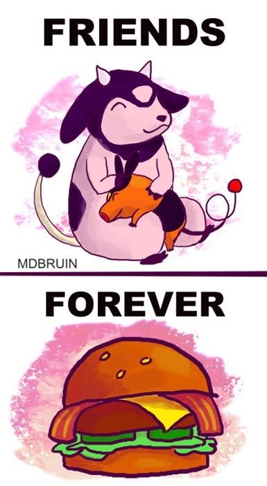 pokemon memes miltank tepig friends forever burger