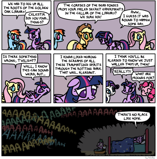 mane 6 twilight sparkle web comics - 8477010432