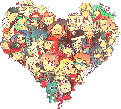 anime Fan Art fairy tail - 8477049344