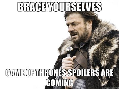 game of thrones memes warning first four episodes leaked