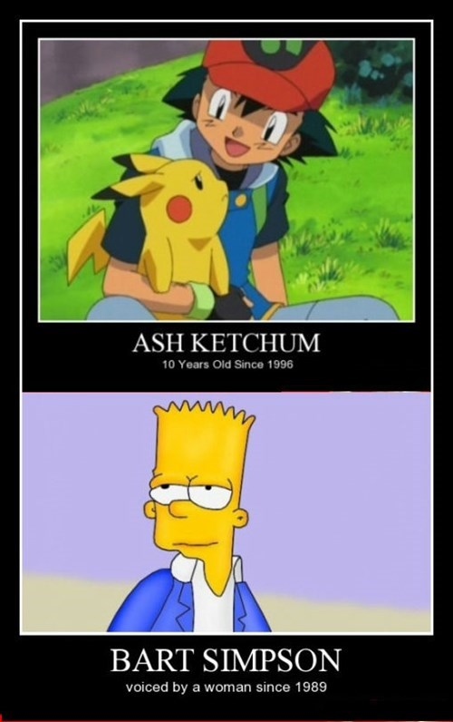 ash,Pokémon,the simpsons,funny,bart simpsons