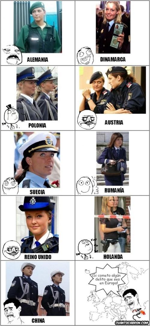 policia europea