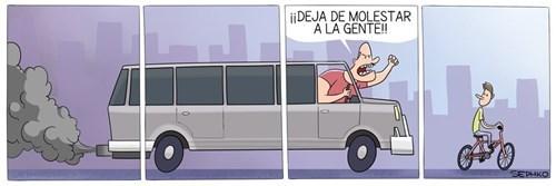 bicicleta vs auto