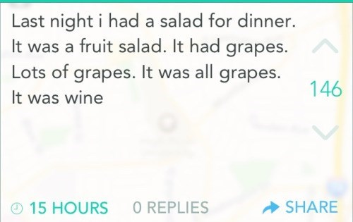 grapes wine funny salad after 12 - 8478731008