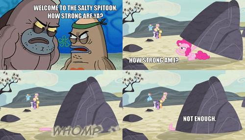 strong SpongeBob SquarePants pinkie pie - 8478841088