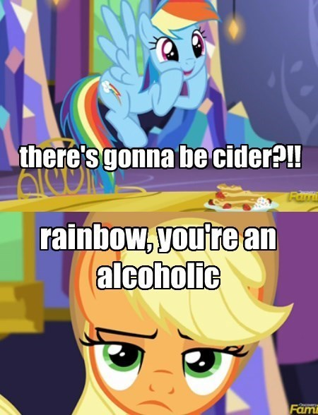 applejack cider rainbow dash - 8478892032