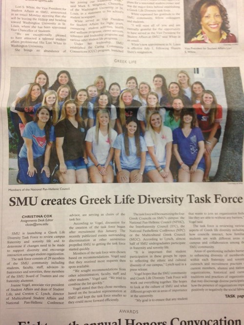 diversity task force is 100% female and white