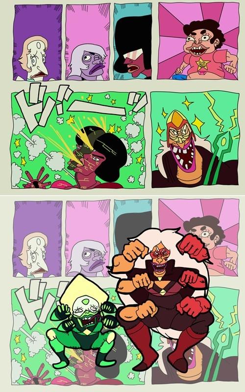 JoJo's Bizarre Adventure Fan Art steven universe - 8479331072