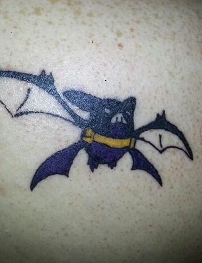 pokemon memes crobatman tattoo