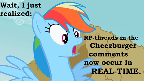 comment system ICanHas Fourth Wall rainbow dash - 8479435520