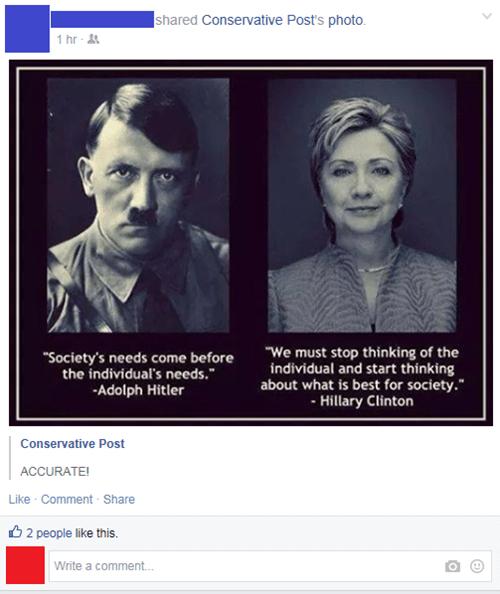 funny-facebook-fail-pic-hillary-clinton-hitler