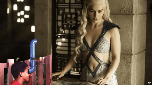 streaming hbo Game of Thrones periscope season 5 leak - 8479815680