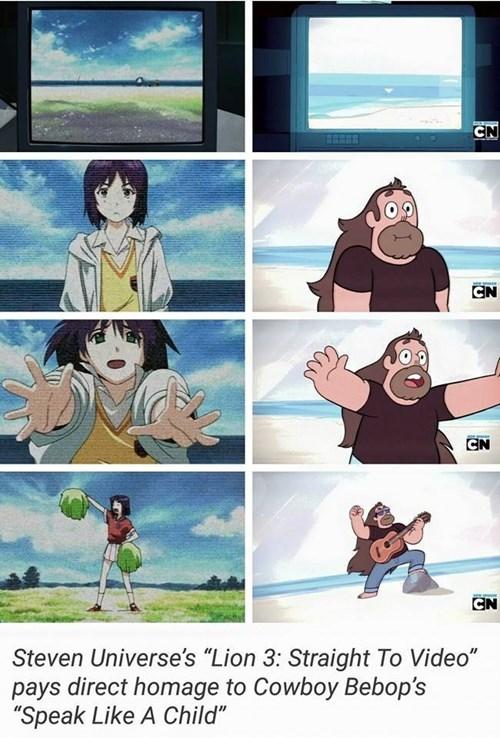 In Case You Forgot: Rebecca Sugar Loves Anime