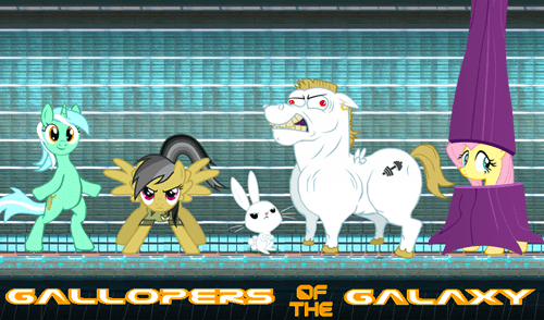 guardians of the galaxy MLP ponify - 8480579584