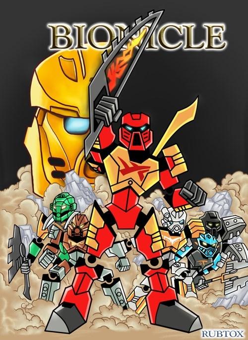Fan Art bionicle - 8480668928
