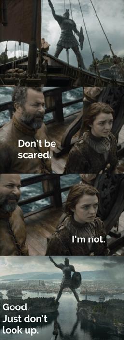 Game of thrones memes season 5 going to braavos
