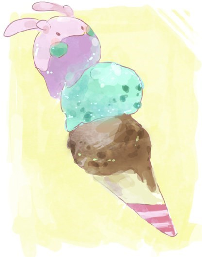 pokemon memes goomy ice cream
