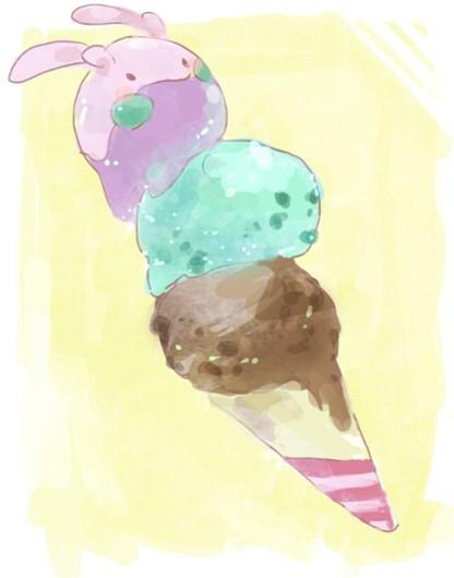 pokemon memes goomy ice cream