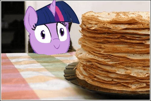 twilight sparkle pancakes - 8480840960