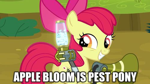 pest pony apple bloom puns best pony - 8481142528