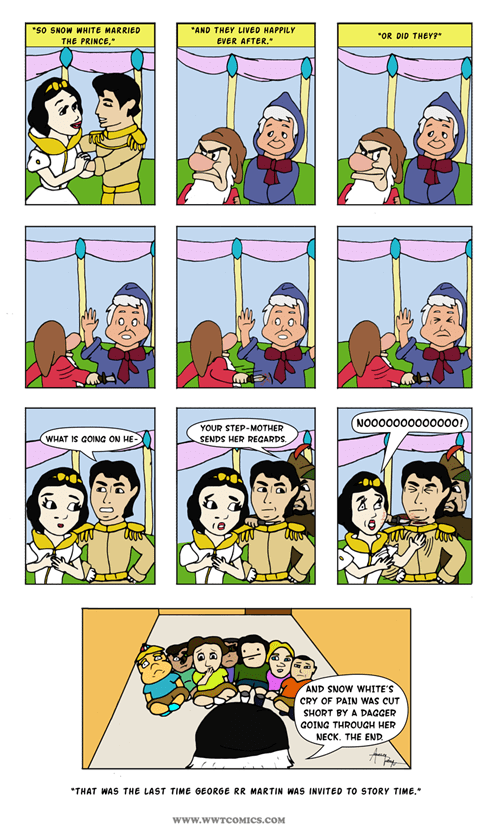 funny-web-comics-snow-whites-white-wedding