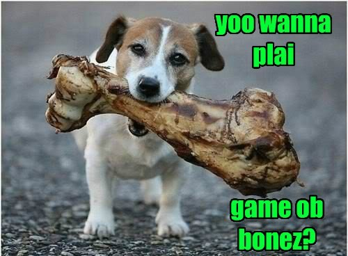 game,dogs,bones,Game of Thrones,puns