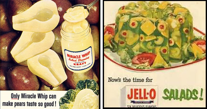 Jello history gross 1950s cinco de mayo disgusting food vintage advertisement wtf old people baby boomers - 8481285