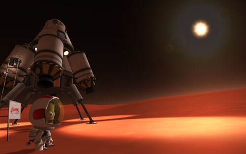 get ready to suit up in the kerbal space program