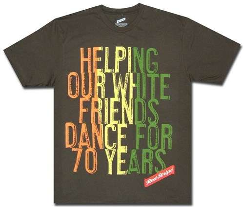 Helping white people dance