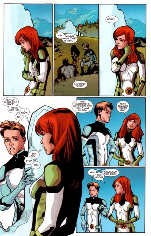 superheroes-iceman-marvel-xmen