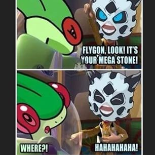 flygon,mega evolutions,whomp whomp