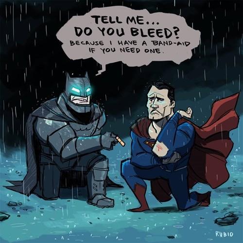 superheroes-batman-vs-superman-dc-do-you-bleed-band-aid-web-comic