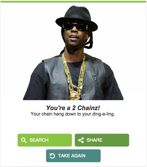 Font - You're a 2 Chainz! Your chain hang down to your ding-a-ling SEARCH SHARE TAKE AGAIN