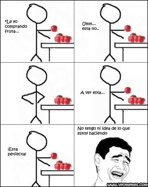 escogiendo fruta