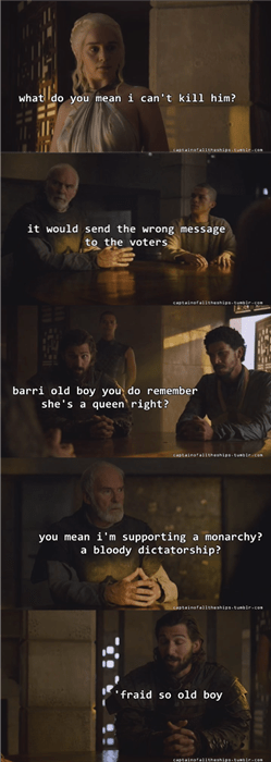 Game of thrones memes season 5 Barristan Selmy learns a valuable lesson from Daario